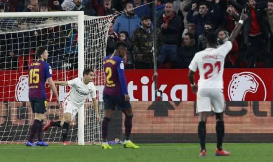 9b1f5e27621a0 Video: Barcelona po 39 zápasoch neskórovala a prehrala úvodné štvrťfinále  Copa del Rey