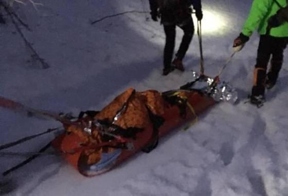 foto turista sa pri zostupe do belianskej doliny posmykol pri pade zahynul
