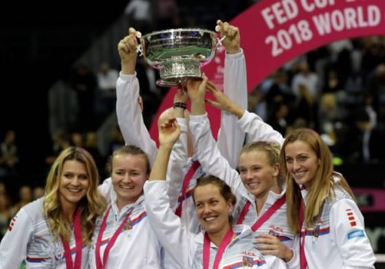 České tenistky sa tešia z titulu vo Fed Cupe 653ec1468fd